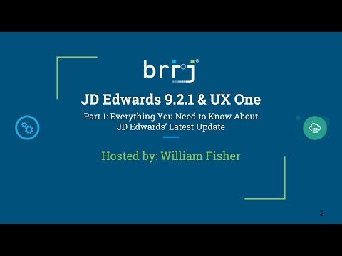 JD Edwards 9.2.1 & UX One: Everything You Need to Know About JD Edwards' Latest Update