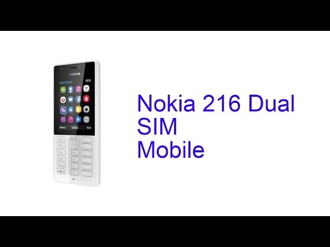 Nokia 216 Dual SIM Mobile Specification [Release in INDIA Sep 2016]