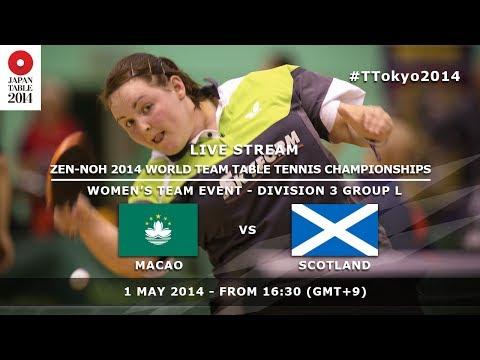 #TTokyo2014: Macao - Scotland