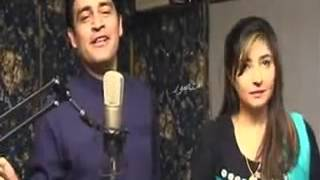 Zeek Afridi And Gul Panra Film Ghaddar Song Eid Mubarak 2012