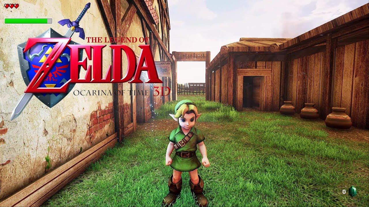 Zelda64 Recreation   Central Ocarina