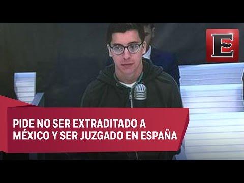 """Diego Cruz, uno de Los Porkys, acusa de ser víctima de una """"elaborada extorsión"""""""