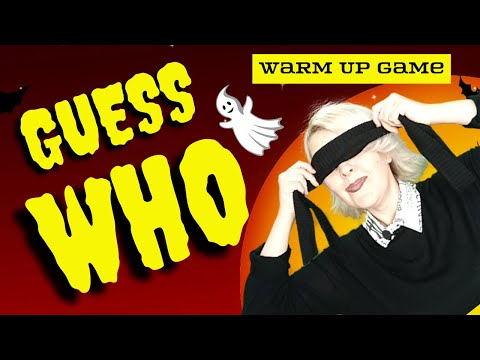 ESL Warm Up Game for Kids: Guess Who