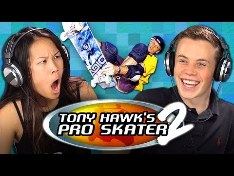 TEENS GAMING: TONY HAWK'S PRO SKATER 2