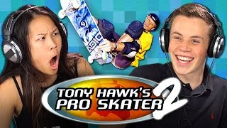 TEENS GAMING: TONY HAWK