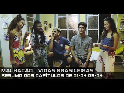 Malhação Vidas Brasileiras - Resumo dos Capítulos de 01 a 05 de abril de 2019