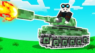 don't give me a minecraft tank..