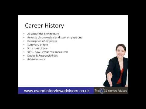 How to write a High Impact, Interview Winning CV