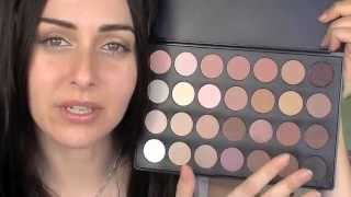 Blush Professional 28 Colour Neutral Eyeshadow Palette - Color for a Natural Look! Thumbnail