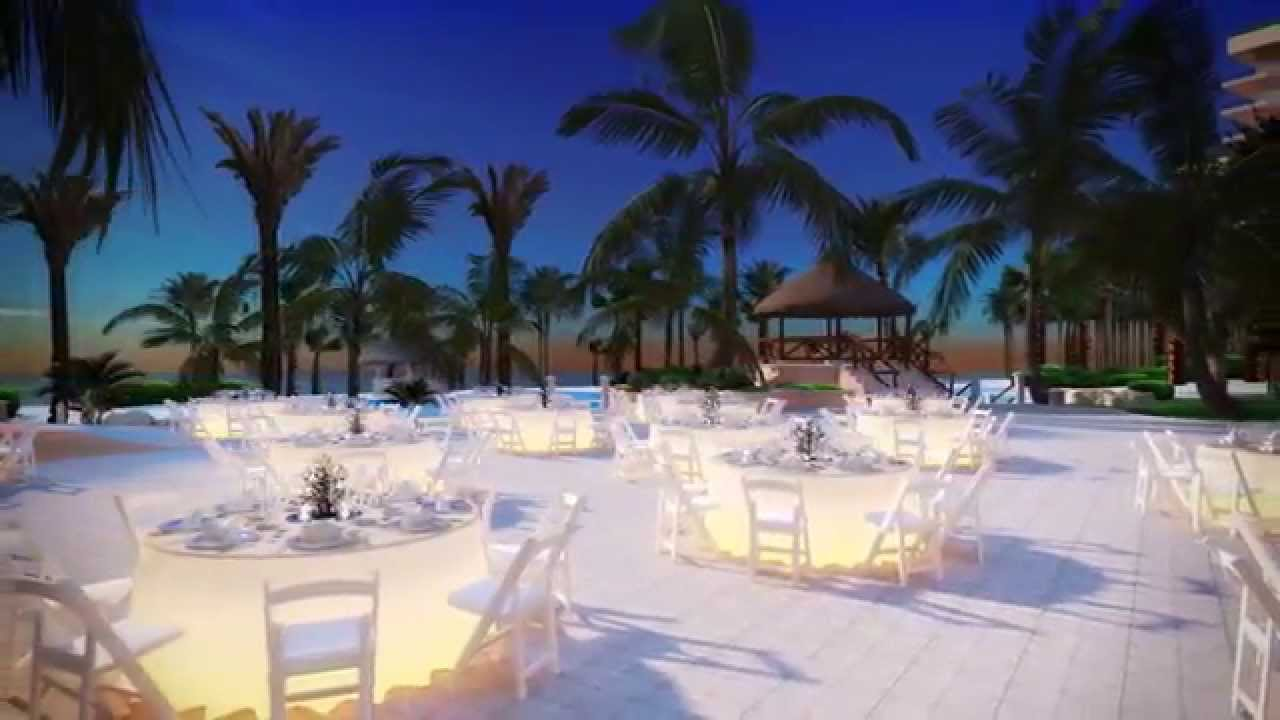 Sunset Terrace At Fiesta Americana Grand C Beach Cancun You