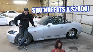 Introducing Brent's New Race Car SHO'NUFF