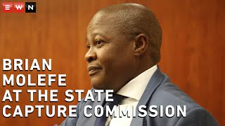 Former Transnet CEO Brian Molefe returned to the state capture commission on 8 March 2021. Molefe admitted to visiting the Gupta residence on numerous occasions.