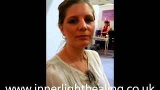 Kate experiences vibrational energy in her heart chakra during healing