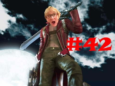 Devil May Cry 3 Part 42 - Gaming With Mom - Blood Flood Athens