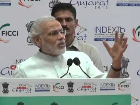 Narendra Modi Inaugurates India Chem Gujarat 2013