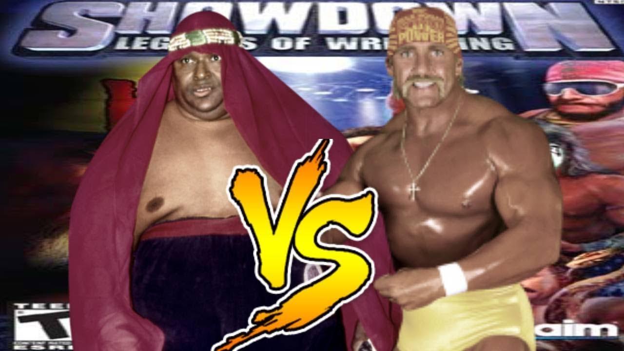 Showdown Legends Of Wrestling Abdullah Vs Hulk Hogan Youtube