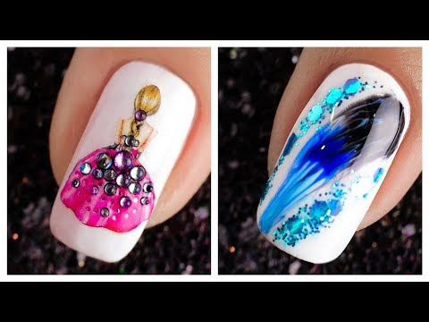 New Nail Art Design 2019 ❤️💅  Compilation | Cute Nails Art Ideas For Beginners #34