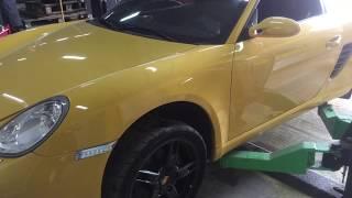Почему удары в АКПП при переключении передач Porsche Boxter