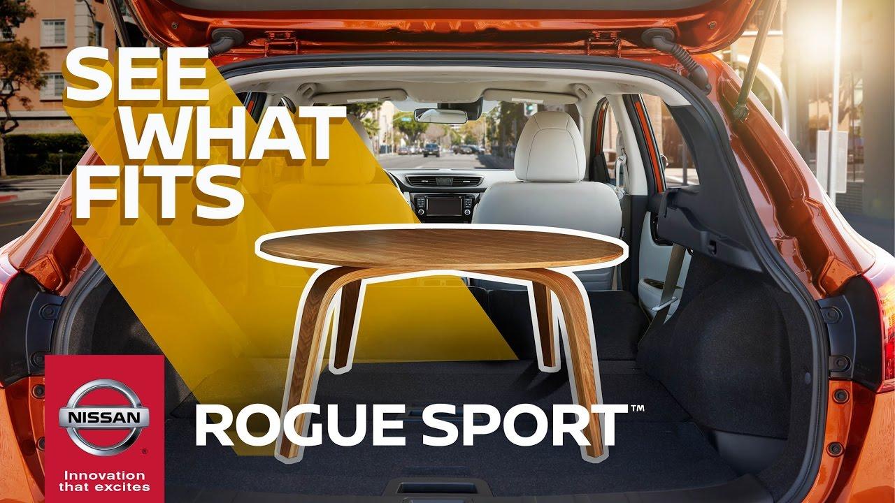 2017 Nissan Rogue Sport Flexible Cargo Lets You Be Spontaneous