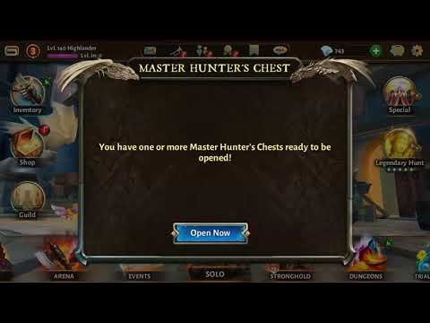 Dungeon Hunter 5 - New Legendary Nature Skill In Action