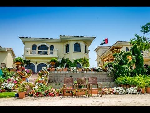 Palm Jumeirah, Garden Homes Frond F - 4 Bedrooms Villa - YouTube