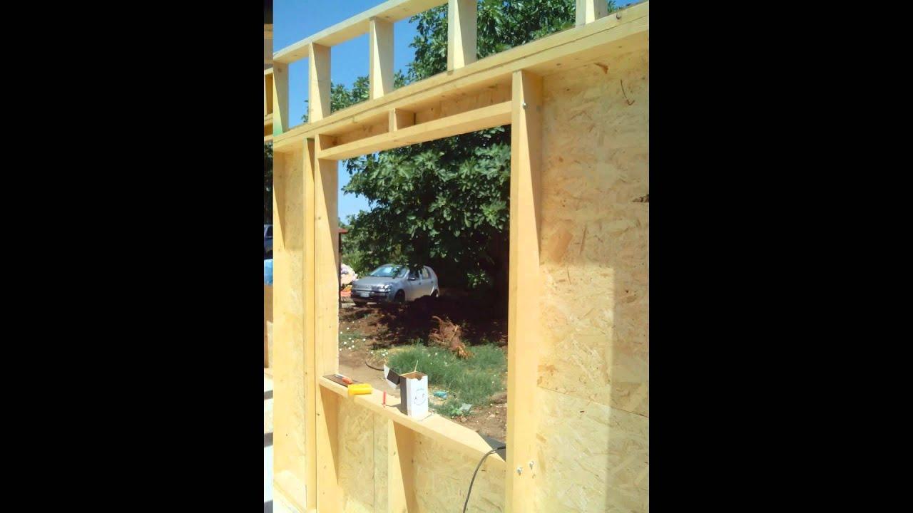 Costruire Parete Legno.Costruzione Di Una Stanza In Legno Fai Da Te