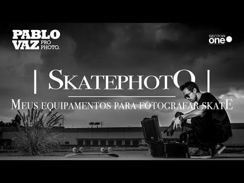 Quais Equipamentos Uso Para Fotografar Skate?! | Pablo Vaz - Photography