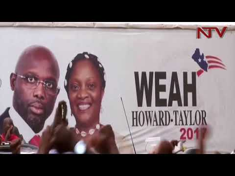 Ex-football star George Weah is new Liberia president