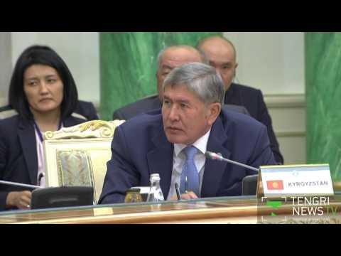 Атамбаев пригласил Назарбаева