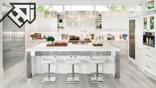 Video 30 Gorgeous Grey and White Kitchens that Get Their Mix Right - HOME DESIGN ideas download MP3, 3GP, MP4, WEBM, AVI, FLV Agustus 2018