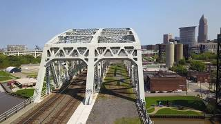 Cleveland Bridge Fly Thru • Cleveland, Ohio