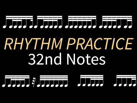 Rhythm Practice with 32nd Notes!