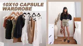 Download 10X10 CAPSULE WARDROBE: 10 Items, 16 Outfits (Summer Edition) | Mademoiselle