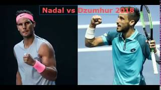Damir Dzumhur vs Rafael Nadal Australian Open LIVE / 2018