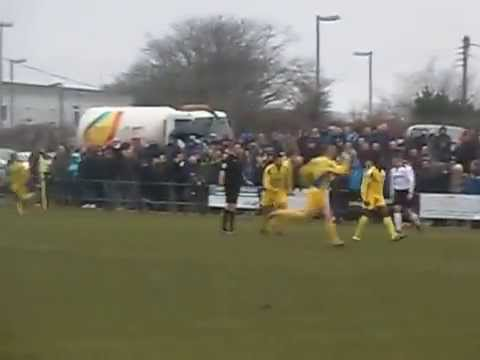 The Fa Vase Qtr Final Afc St Austell 3 2 Ascot United Youtube