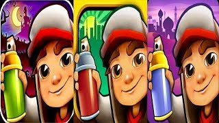 Subway Surfers Transylvania VS Las Vegas VS Monaco iPad Gameplay for Children HD #419