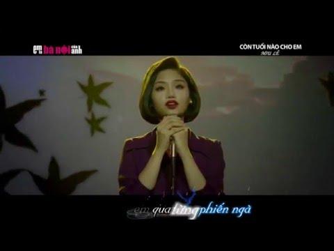 [karaoke + lyrric] Còn tuổi nào cho em - Miu Lê