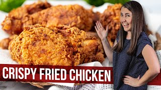 How to Make Crispy Fried Chicken