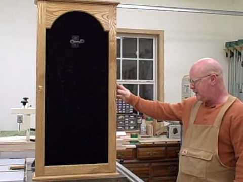 Ozark Valley Displays Completed Alcove Guitar Display Case   YouTube