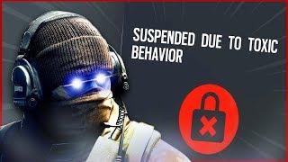 I Got Banned On Rainbow Six Siege...