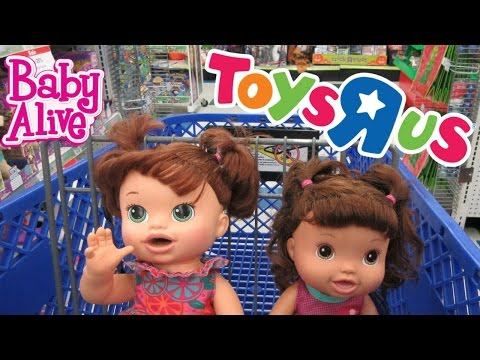 Thumbnail: Baby Alive: Toys R Us Outing💕
