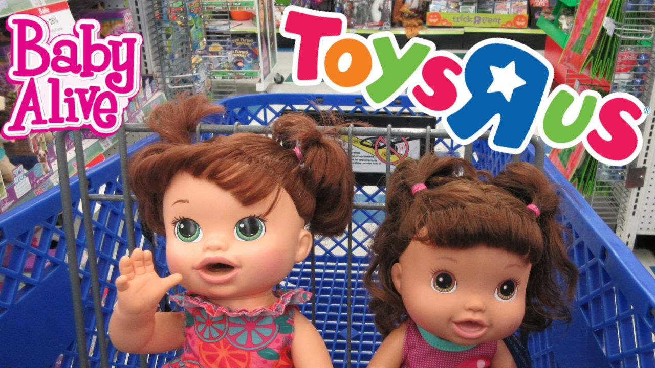 Toys For 8y Toys Rus : Baby alive toys r us outing💕 youtube