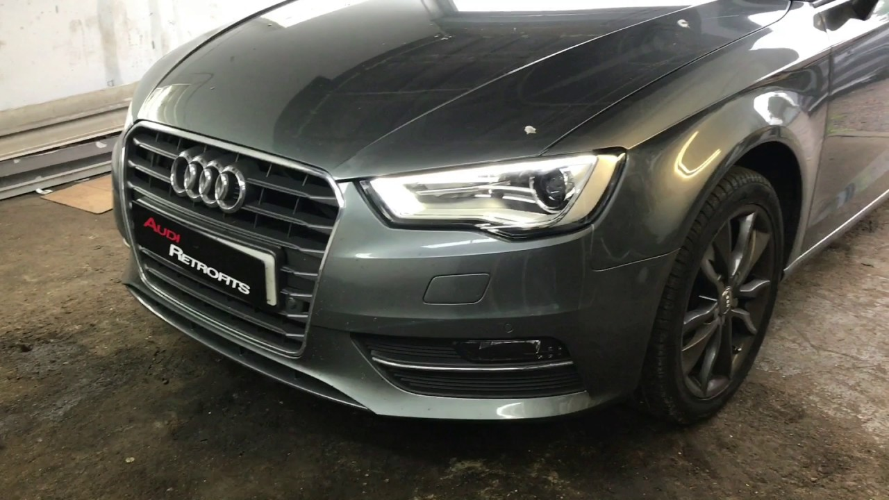 2013 Audi A3 8V Headlight And Tail Light Upgrades