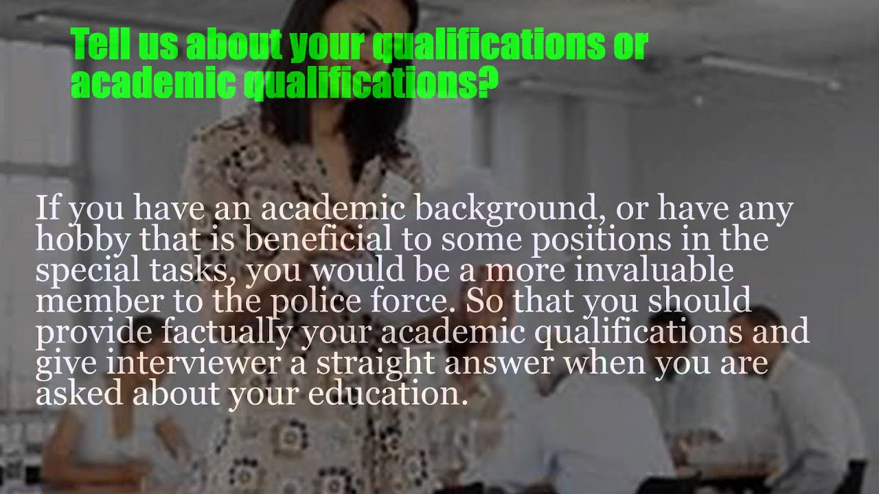 police behavioral interview questions police behavioral interview questions