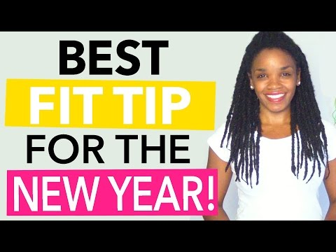 The Best Fitness Tip for Your New Year's Resolution