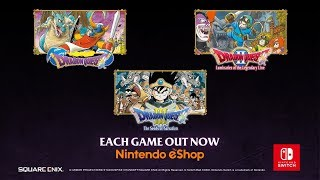 First Three Dragon Quest Games - Out Now Trailer  Nintendo Switch