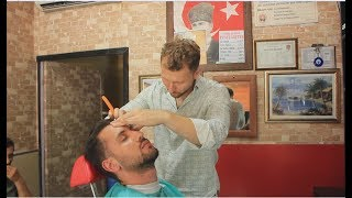 Haircut asmr barber