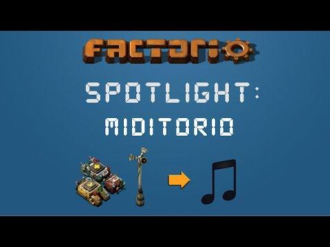 Factorio Spotlight : MIDItorio - Easily Create Songs In Factorio with Programmable Speakers