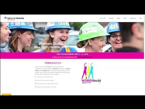 'Women Build Week' preview