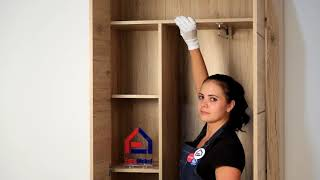ВидеоОбзор EuroMebel: Шкаф для одежды 2Д коллекции Оскар